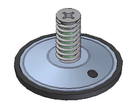 Диафрагма воздушного клапана